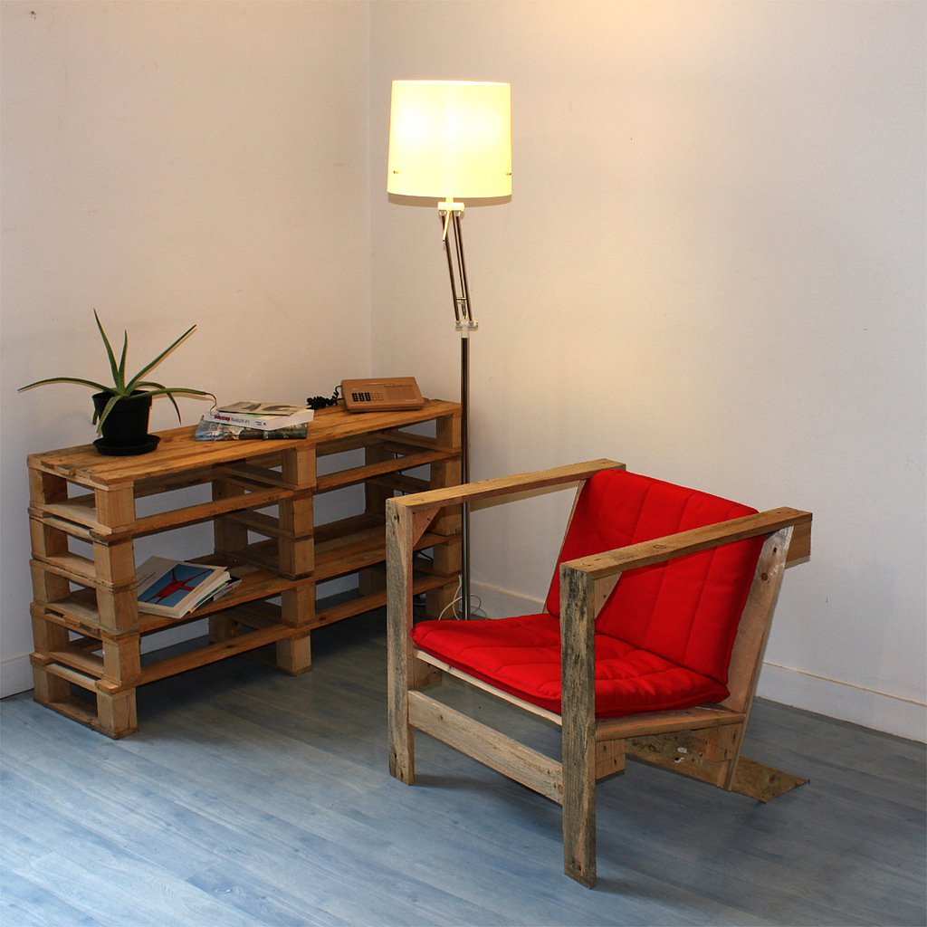 Reuse Wooden Pallets Moving Happiness Home