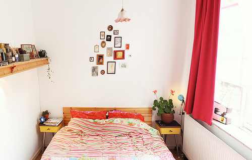 Light Bedroom in a Tiny Apartment (Photo by suzettesuzette)