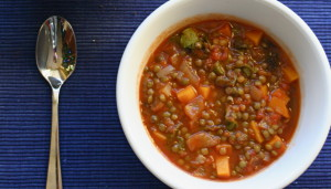 Chunky Lentil Soup by whitneyinchicago (CC BY 2.0)