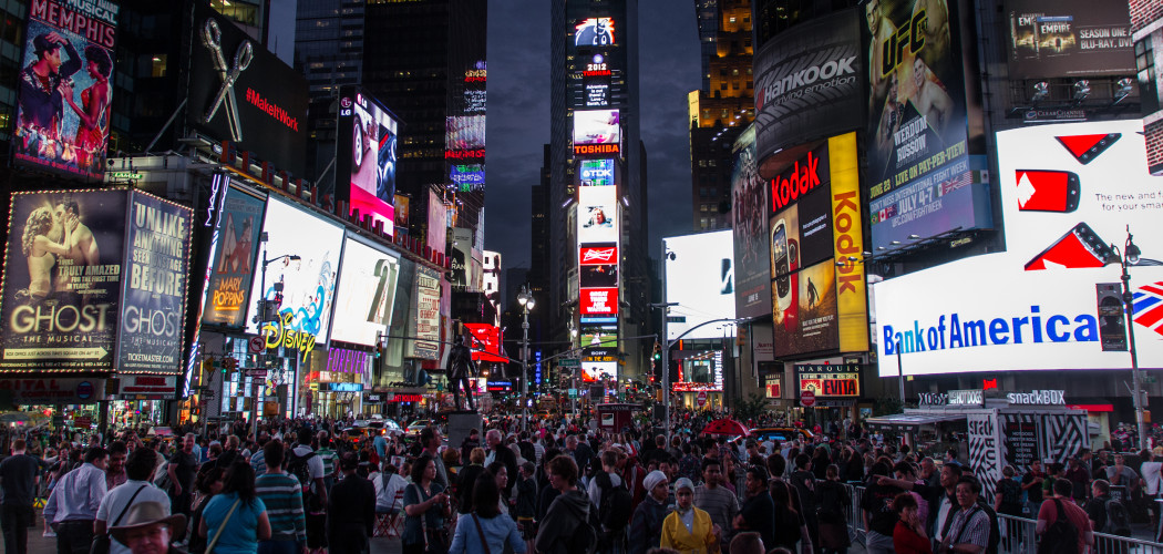 Moving to New York: Times Square