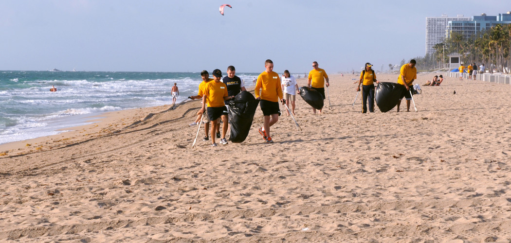 Earth Day: Beach Cleanup