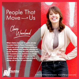 Claire Wineland moves us