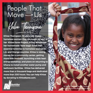 People That Move Us- Khloe Thompson