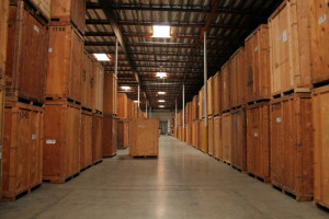 An inside look at NorthStar Moving's Warehouse
