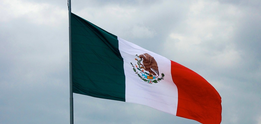 Mexican flag via publicdomainpictures.net