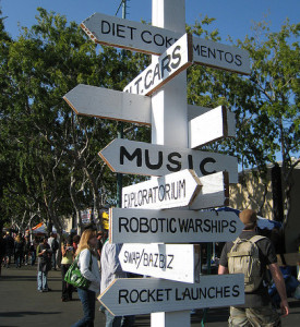 Maker Faire Directions by Dvortygirl (CC BY-SA 2.0)