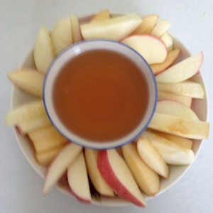 Apples and Honey for Rosh Hashanah by Oded Gafni via CC BY-SA 4.0