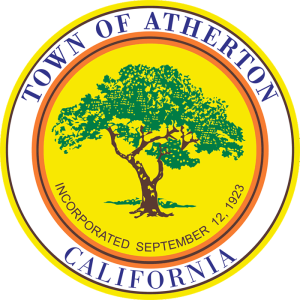 Seal of Atherton by town of Atherton CA via Wikimedia Commons