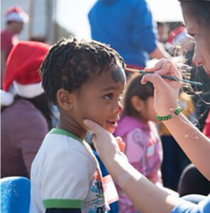 One Voice LA - Holiday Program - Face Painting