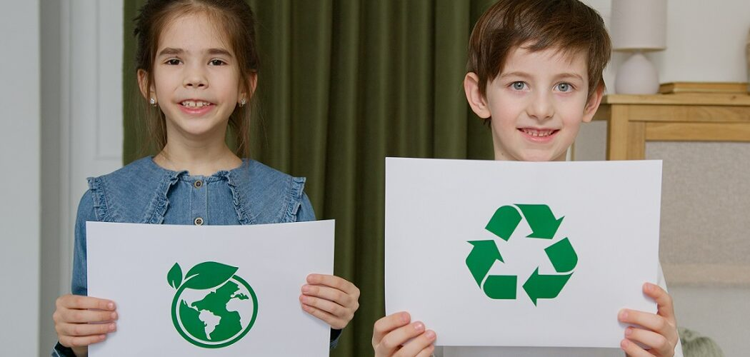 Recycling At Home With Kids