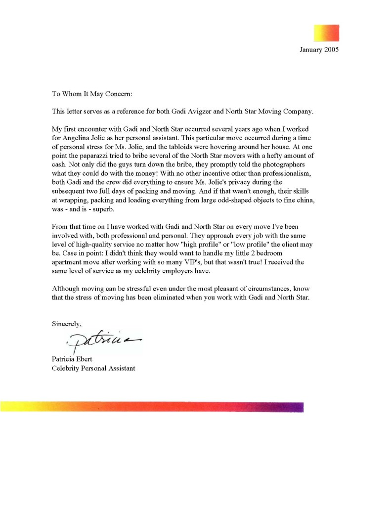 Recommendation Letter Archives Page 7 Of 13