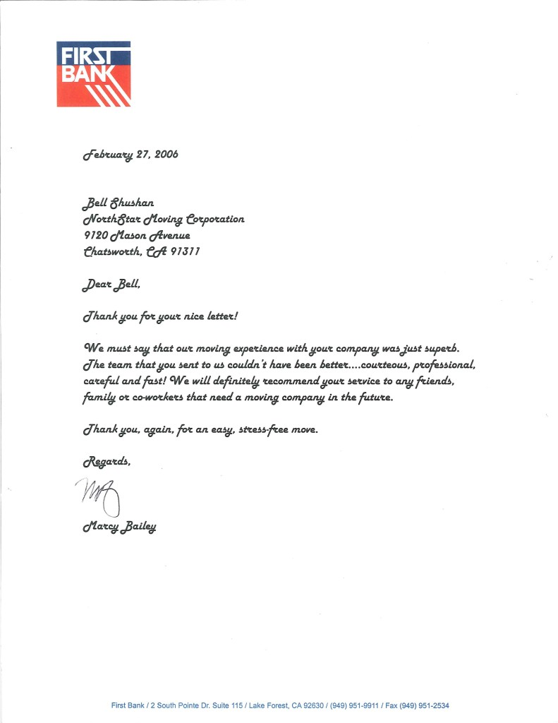 Recommendation Letter Archives  Page  Of
