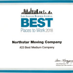 Best Places to Work 2018 NorthStar Moving