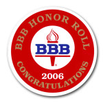 BBB Decal 2006