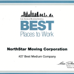 Best Places to Work 2016 Certificate