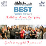 NorthStar Moving ranked #23 in Best Places to work list 2018