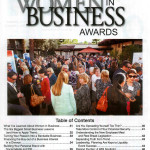 Cover of the Women in Business Award article in the San Fernando Valley Business Journal