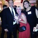 Ram, Traci and Alice at the CAA-LA signature awards ceremony