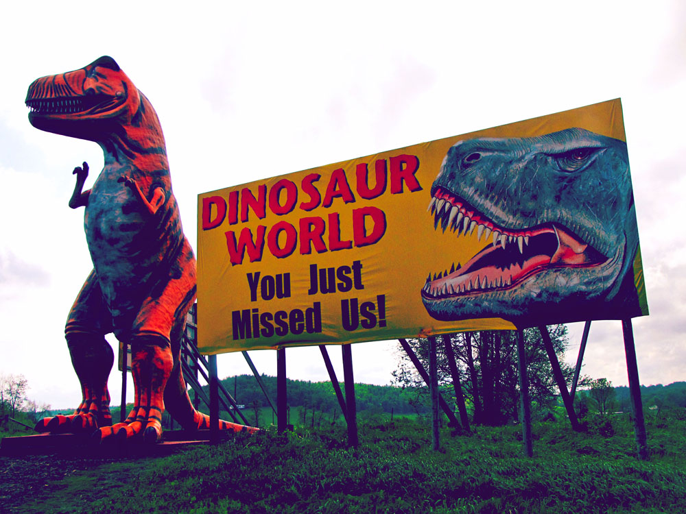 Dinosaur World in Cave City