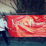 Jared with NSM Banner