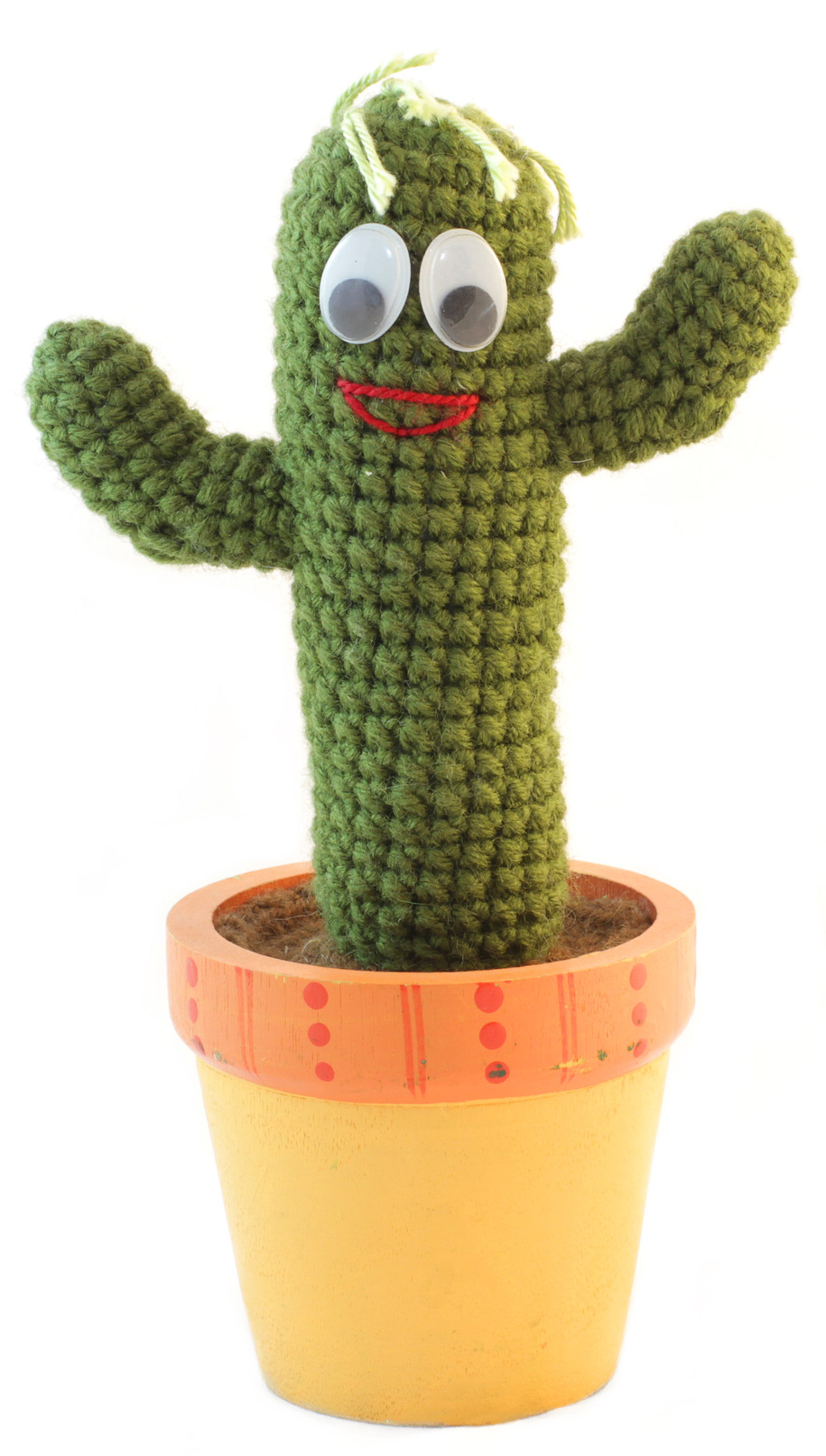 Knit Cactus Moving with Kids