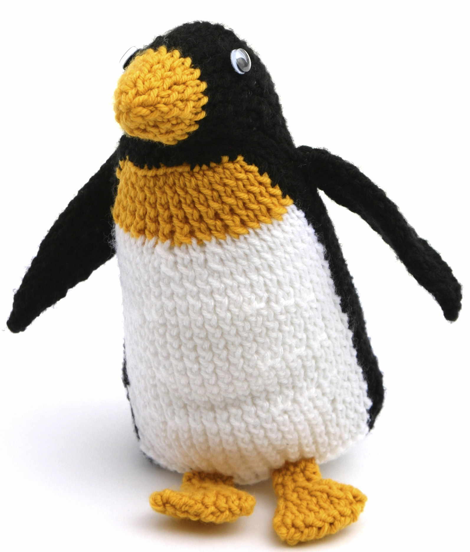 Knit Penguin Moving with Kids