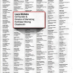The list of Women Making a Difference in the Los Angeles Business Journal.