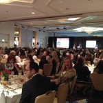 Laura McHolm at the San Fernando Valley Business Journal's 2014 Women in Business Awards Luncheon