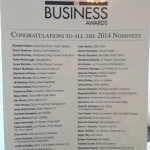 List of nominees for the San Fernando Valley Business Journal's 2014 Women in Business Awards