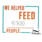 Move for Hunger - NSM fed 5300 People