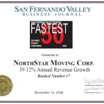NorthStar Moving Company was number 17 on the list!