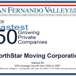 NorthStar Moving Company was ranked sixth on the list!