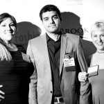 Alice, Hadi and Traci from NorthStar Moving at the CAA-LA Signature Awards