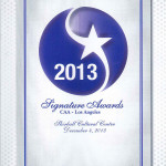 NorthStar Moving Company was recognized for our outstanding relationship with the California Apartment Association of Los Angeles, and we were nominated for the Signature Award for Industry Partner of the Year in 2013.