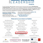 The Finalists for the 2012 Small Business Leadership Awards