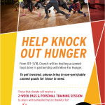 Help Knock OUt Hunger Food Drive 2016