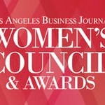 Logo of Women's Council awards - Los Angeles Buisness Journal