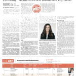 Women-Owned Businesses list by the Los Angeles Business Journal