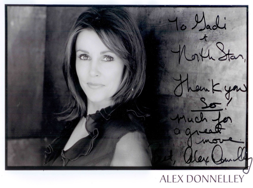 Alex Donnelley signed photo