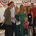 Families with Habitat for Humanity