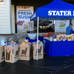 Donations for the Take 5 to Care holiday food drive 2018