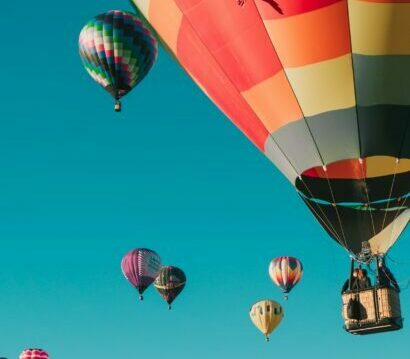 Flying in a balloon