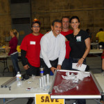 Mayor Villaraigosa, Lu Parker and NorthStar Moving movers