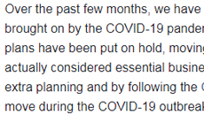 Tips for Moving During COVID-19
