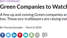 Green Companies to Watch