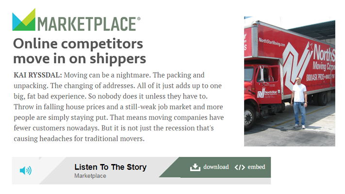 Online competitors move in on shippers