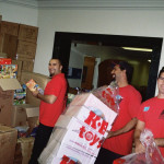 NorthStar Moving Movers at the Toy Drive